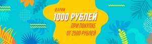 BOOK24 дарит 1000 рублей при покупке от 2500.