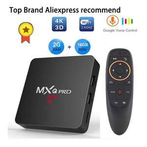 Андроид приставка MXQ pro