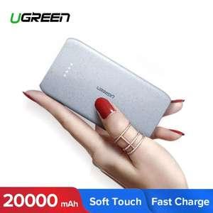 Ugreen power Bank 20000 мАч { кабель в подарок}