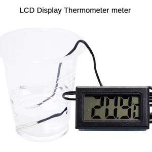 LCD термометр с выносным датчиком - 0.87$