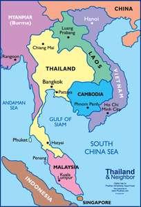Путешествие по Юго-Восточной Азии из Москвы: Малайзия, Мьянма, Таиланд, Лаос, Камбоджа, Вьетнам в одной поездке. 40к руб за все билеты.