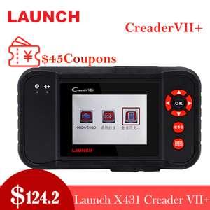 Автомобильный диагностический сканер  Creader X431 VII Plus за $118