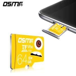 Micro SD карты OSMR (напр. 64 Гб)