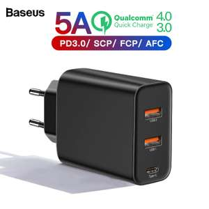 60W зарядное устройство Baseus Charging Quick Charger