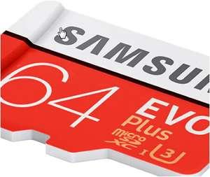 Карта памяти Samsung EVO U3 64 Gb