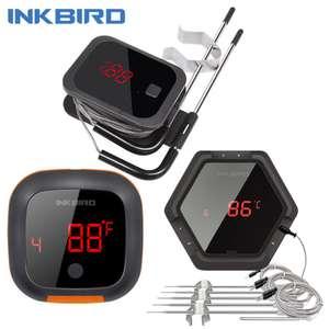 Беспроводной термометр для барбекю Inkbird IBT 2X 4XS F001 за 21,24$