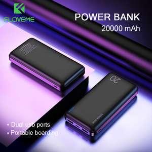 FLOVEME power Bank 20000 мАч