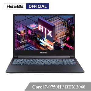 Игровой ноутбук Hasee Z8-CT7NA (Intel Core I7-9750H + RTX 2060 6Gb GDDR6)