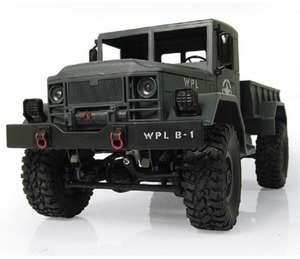 Радиоуправляемый 1:16 военный мини-грузовик внедорожник за $18.9