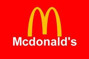 Газированный напиток 0.25л и маленькая картошка фри бесплатно в Макдональдс