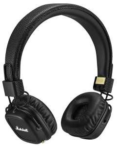 Беспроводные наушники Marshall Major II Bluetooth, черный