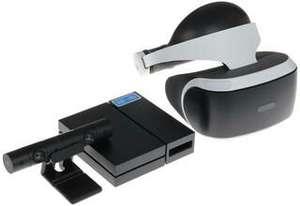 Playstation VR + Camera V2 + игра VR Worlds