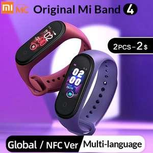 Оригинальный Mi Band 4 (1617 рублей для новых пользователей)
