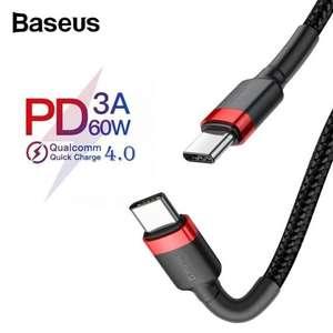 Baseus PD 3.0 60W Type-c To C