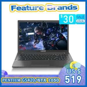 Ноутбук Hasee K670D-G4E6 (Intel 9Gen / GTX1050 4Gb / 8Gb RAM / 256Gb SSD / 15,6'' IPS)