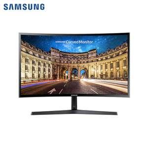 """Скидки на мониторы Samsung (например 23.5 """"C24F396FHI изогнутый чёрный)"""