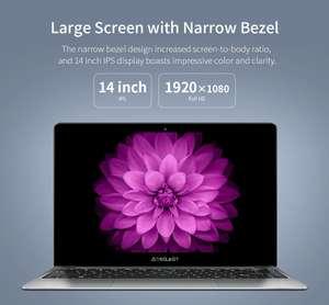 Тонкий ноутбук Teclast F7 plus, SSD 256GB, RAM 8GB