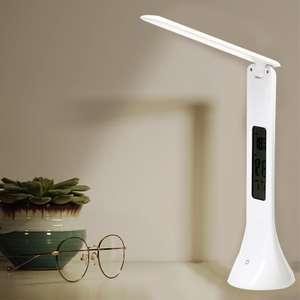 Светодиодная настольная лампа складная с регулируемой яркостью  за 8.90$