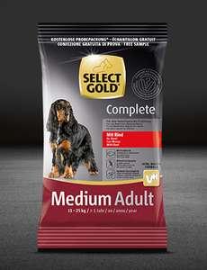 Бесплатно получаем корм для собак Select Gold