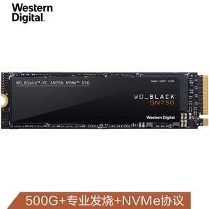 Твердотельный накопитель Western Digital, 500 ГБ, M.2, SN750- за 94.99$