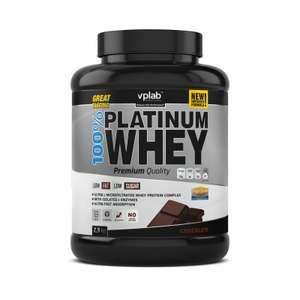 Сывороточный протеин 100% Platinum Whey, вкус «Шоколад», 2,3 кг, VPLab