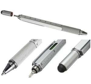 Мультифункциональная ручка 5 в 1 за $0.4