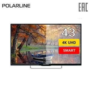 """4K SmartTV Телевизор 43"""" Polarline 43PU11TC-SM"""