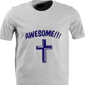Бесплатная футболка Awesome (Доставка по всему миру)