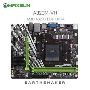 MAXSUN MS — Earthshaker A320M — VH Материнская плата за 48.15$