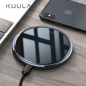 Беспроводное зарядное устройство KUULAA Qi 10 Вт за 4.94$