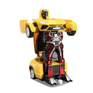 Трансформер - автомобиль с пультом дистанционного управления за 13.99$