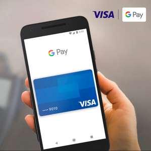 [VISA] Кэшбэк до 500₽ за первые 3 покупки через Google Pay