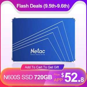 [05.09] SSD Netac 720gb N600S