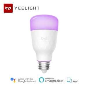 Умная лампа Xiaomi Yeelight Smart LED Bulb (color) за 12.99$
