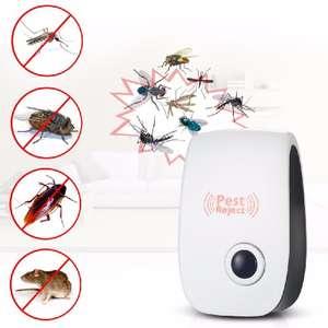 Ультразвуковой отпугиватель насекомых AC90V-250V за 3.39$