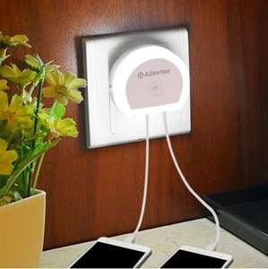 Ночник Alfawise с датчиком света и зарядным устройством за $0.89