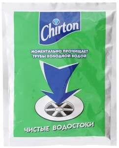 Средство для прочистки труб Chirton 60 г (18,75₽ с баллами)