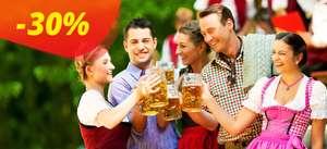 30% скидка на поездку в Германию.