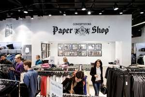 Paper Shop. Скидка 1000₽ по промокоду на одежду и аксессуары.