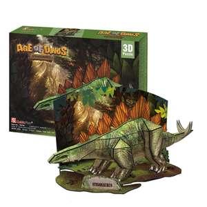 [Toy] 3D Пазлы Эра Динозавров Стегозавр от Cubic Fun