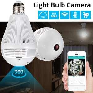 Лампочка со встроенной панорамной камерой