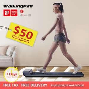WalkingPad A1 умная электрическая складная беговая дорожка для дома.$349