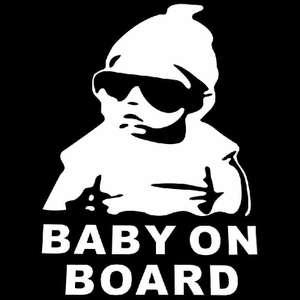 Наклейка на машину BABY ON BOARD за 0,09$
