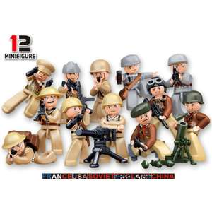 1 фигурка солдатика по тематике LEGO 0.59$