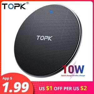 Беспроводное зарядное устройство TOPK 10 Вт