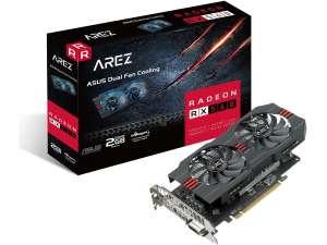 Видеокарта ASUS AREZ Radeon RX 560, 2Gb, EVO, GDDR5, PCI-E 3.0 x16, 128 bit, арт. 90YV0AHD-M0NA00