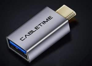 Переходник-адаптер из USB в Type C