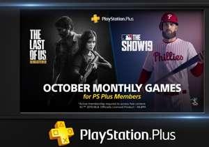Playstation Plus - бесплатные игры октября по подписке: The Last of Us и MLB The Show 19