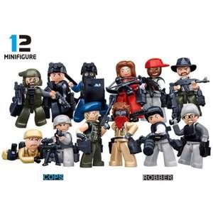 """1 фигурка """"копы и разбойники"""" по тематике LEGO 0.69$"""