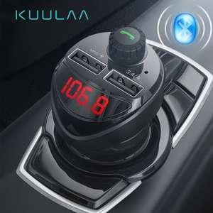 Автомобильное зарядное устройство с FM-передатчиком KUULAA